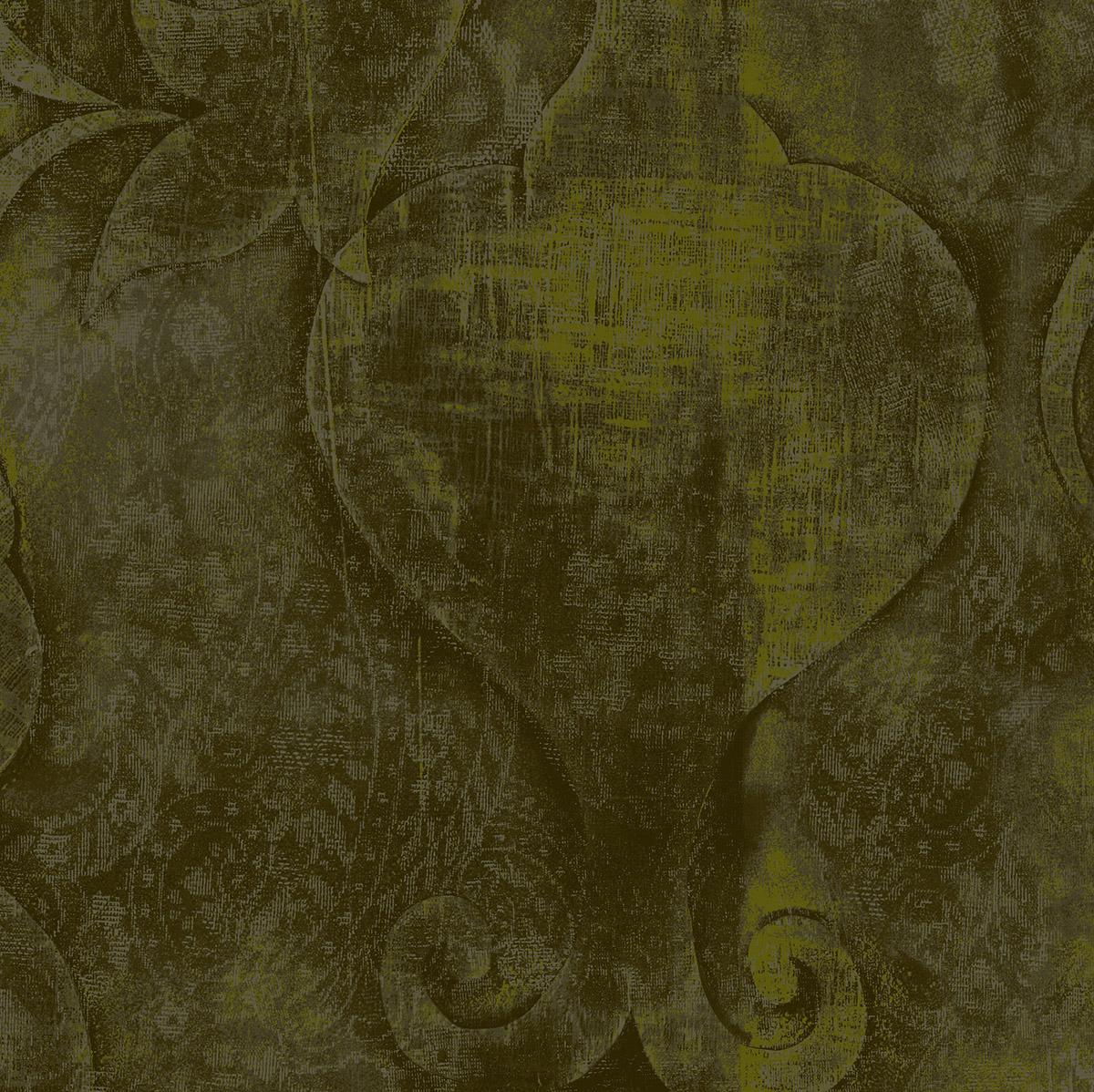 3417-006 Midnight Garden - Embossed - Khaki Fabric   Cotton+Steel ...