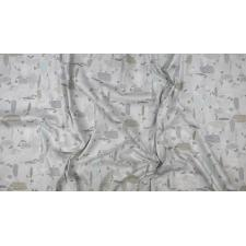 PK105-GY5 Girl\'s Club - Pebbles - Gray Fabric 3