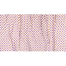 TB103-WH1 From the Desk of... - Daisies in Circles - White Fabric 3