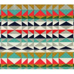 A4012-002 Mesa - Overlook Serape - Indigo Fabric
