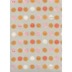 A4063-001 Sunshine - Sunshine - Grey Unbleached Cotton Fabric