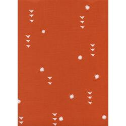 A4066-002 Sunshine - Rain - Sun Unbleached Cotton White Pigment Fabric
