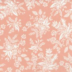 AB8060-001 English Garden - Toile - Peach Fabric
