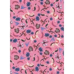 AB8002-001 Les Fleurs - Carousel - Pink Fabric