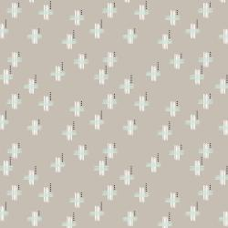 AC104-RO4 Camp Creek - Hashmarks - Rockbed Fabric