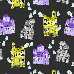CC300-SB2 Bring Your Own Boos - Ghost Hosts - Spooky Black Fabric