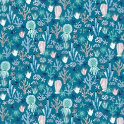 CC103-AZ1 Kaikoura - Under the Sea - Azure Fabric