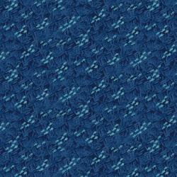 CC104-DB3 Kaikoura - Little Fish - Deep Blue Fabric