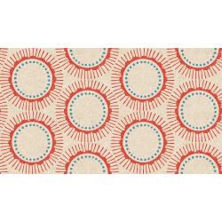 CF104-RE5C Kibori - Tara - Red Canvas Fabric