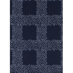 C5046-001 Bluebird - Not Minus - Navy Fabric