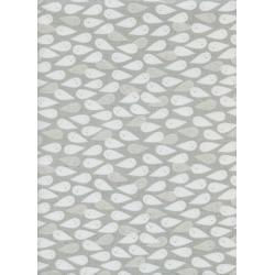 C5088-001 Boo - Ghosties - Natural Pearlescent Fabric