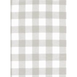 "C5090-001 Checkers - 1"" Gingham - Linen Fabric"