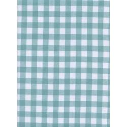 "C5091-006 Checkers - 1/2"" Gingham - Story Blue Fabric"