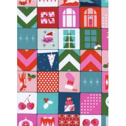 C5068-001 Garland - Merry Memory Fabric