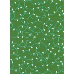 C5075-003 Garland - Illuminate - Green Fabric