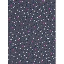 C5161-011 #Lawnquilt - Party Lights - Smoke Lawn Fabric