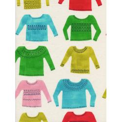 C5133-001 Noel - My Favorite Sweater - Natural Unbleached Cotton Fabric