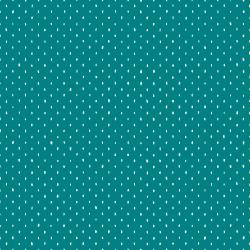 CS101-TE7 Cotton+Steel Basics - Stitch and Repeat - Teal Fabric