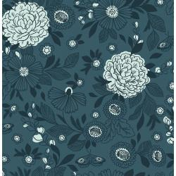 EM100-BN3 Earth Magic - Its Cool to Be Kind - Blue Note Fabric