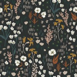 HJ201-TW1 Dear Isla - Meadow - Twilight Fabric