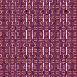 HJ102-PL1 Dusk till Dawn - Moon Flower - Plum Fabric