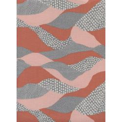 J9009-002 Imagined Landscapes - Lands End - Sunset Unbleached Cotton Fabric