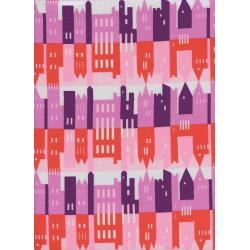 K3026-003 Penny Arcade - City - Afternoon Fabric