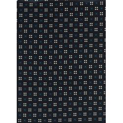 K3031-011 Penny Arcade - X Dot - Black Lawn Fabric