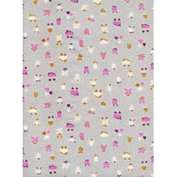 K3042-002 Yours Truly - Love Nest - Orchid Fabric