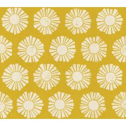 LV101-GO1U By the Seaside - Sunshine - Golden Unbleached Fabric