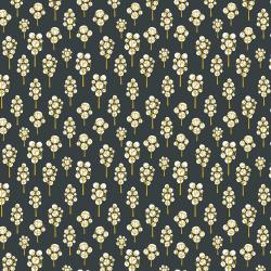 LV203-FG1 In The Woods - Beech Tree - Forest Green Fabric