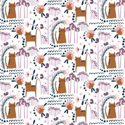 MC201-SU4 Glory - Elsies Cat - Sunset Fabric