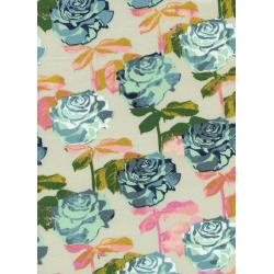 M0019-001 Picnic - Rose Garden - Neutral Fabric
