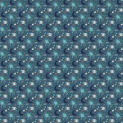 MP103-SL2M Sahara - My Sun and Stars - Slate Metallic Fabric
