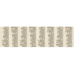 NM201-GY3U Waku Waku Christmas - Mr. Polar Bear - Gray Unbleached Fabric