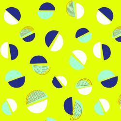 NH100-LT2 Pop! - Happy Duos - Lime Time Fabric