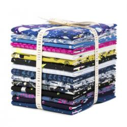 OE200P-FQB Snow Flowers Fat Quarter - Bundle