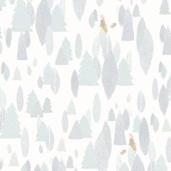 PK103-SO3P Girl's Club - Another Adventure - Soft White White Pigment Fabric