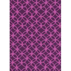 R1933-001 Macrame - Knotty - Grape Fabric
