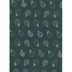 R1942-001 Raindrop - Rainwalk - Cloudbrust Fabric