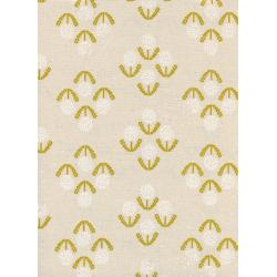 R1919-001 Zephyr - Puff - Mustard Unbleached Cotton Fabric