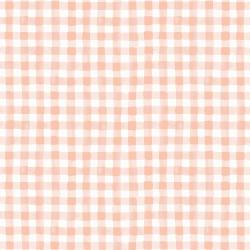 RP208-BL2 Meadow - Painted Gingham - Blush Fabric (RP208-PI2)