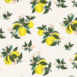 RP301-LE3M Primavera - Citrus Blossom - Lemon Metallic Fabric