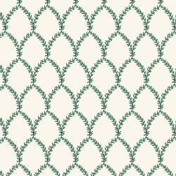 RP404-GC3 Strawberry Fields - Laurel - Green and Cream Fabric