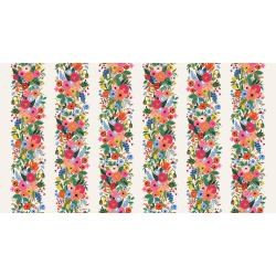 RP101-PI3R Wildwood - Garden Party Vines - Pink Rayon Fabric