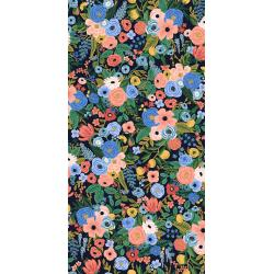 RP104-NA4R Wildwood - Petite Garden Party - Navy Rayon Fabric
