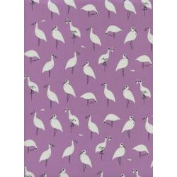 S2040-025 From Porto With Love - Snack Time - Lavender Rayon Fabric