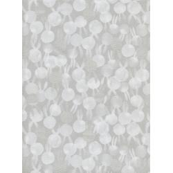 S2049-002 Sleep Tight - Bunbuns - Grey Pearlescent Fabric