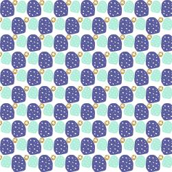 VB101-SB3M Mountains, Rocks, and Pebbles - Sweet Pebbles - Summer Breeze Metallic Fabric