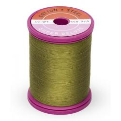 753-1156 Light Army Green 50 Wt. Cotton Thread Spool